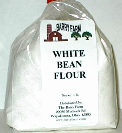 White bean flour