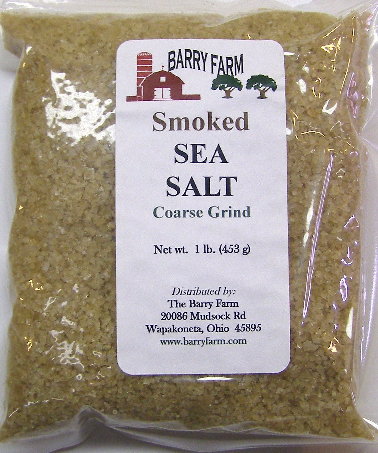 Coarse Smoked Sea Salt